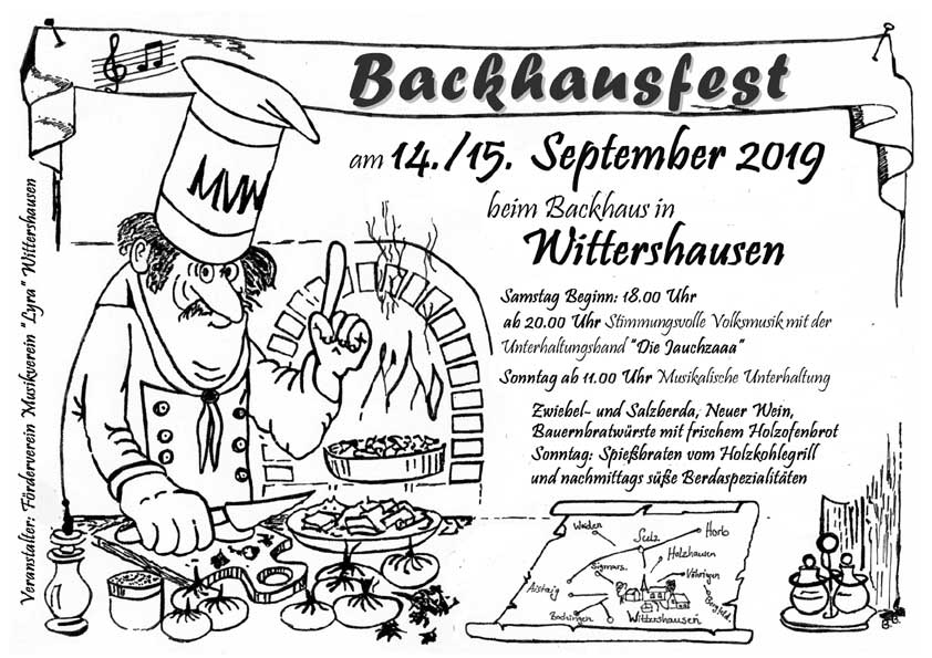 Backhausfest Wittershausen